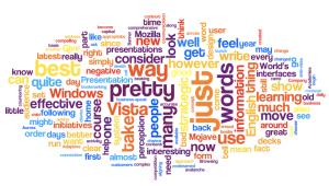 Wordling the B1 blog